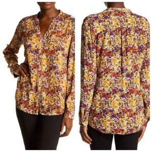 Kut From the Kloth Jasmine Floral Blouse